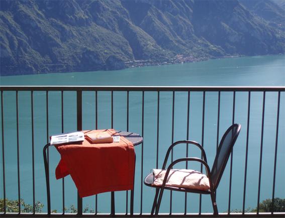 Lago d'Iseo, vanuit Hotel Panaramico