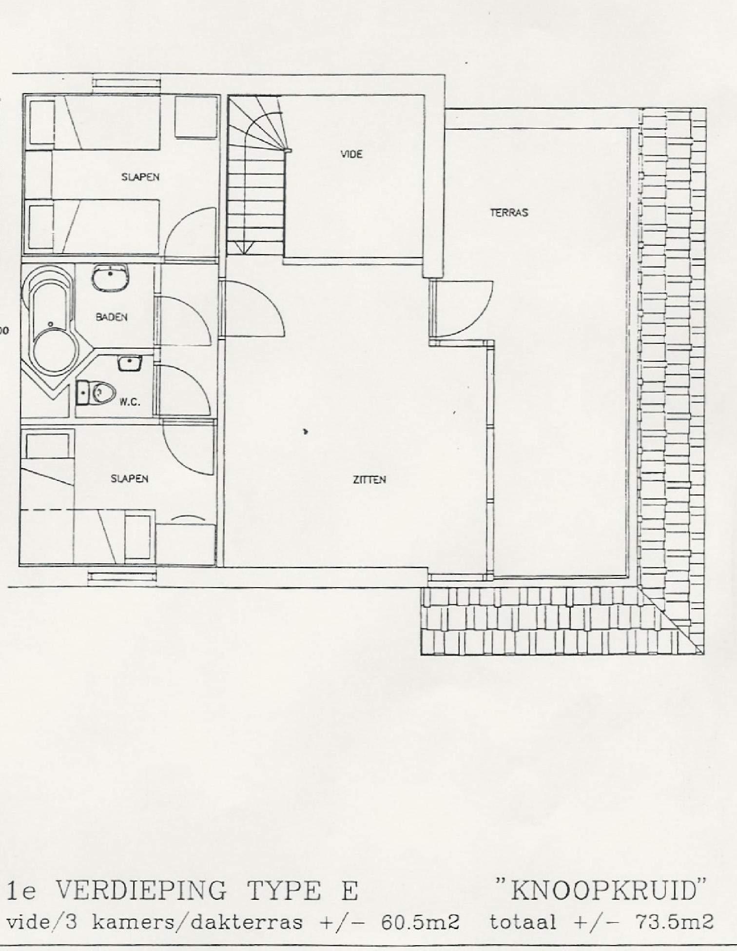 images plattegrond knoopkruid etage